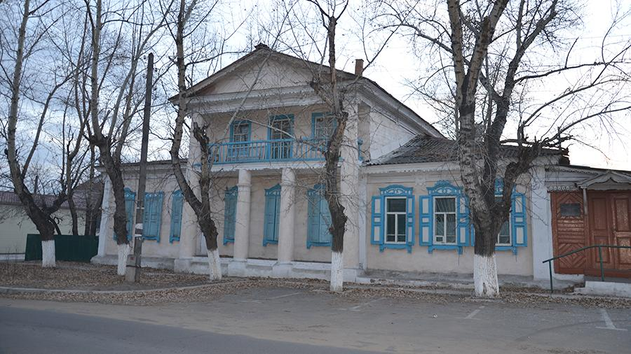 Здание гостиницы «Даурия» в Нерчинске