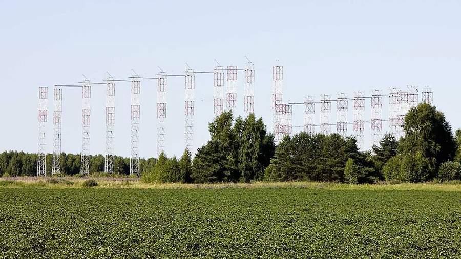 Антенная система передающей части РЛС 29Б6 «Контейнер»