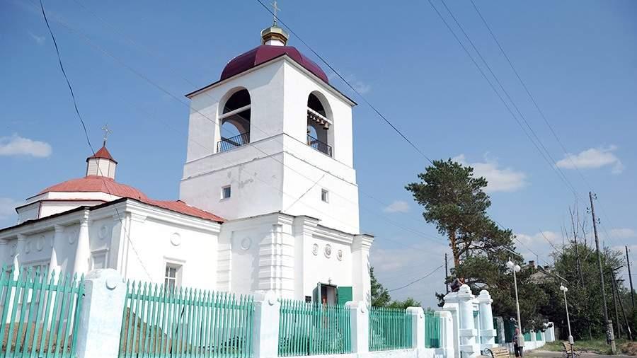 Воскресенский собор в Нерчинске