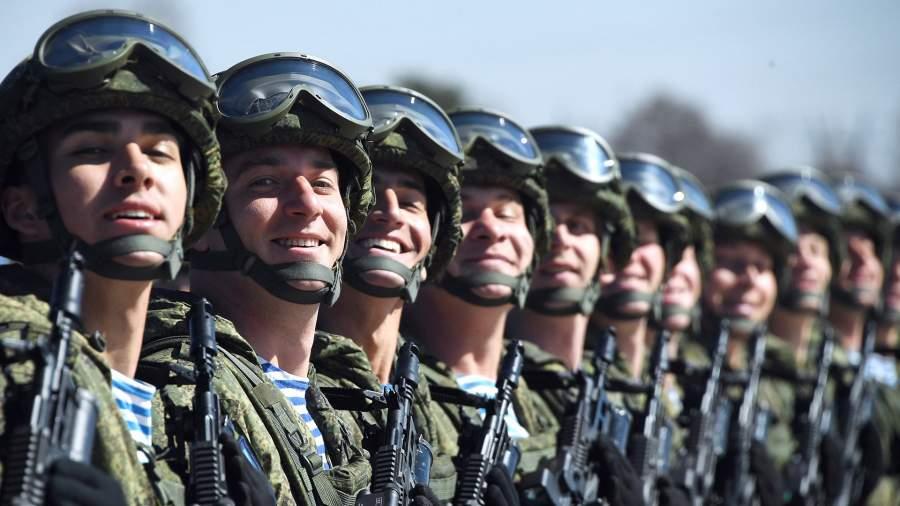 Военнослужащие ВДВ РФ