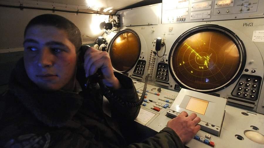 Пост обработки передачи радиоданных на командном пункте