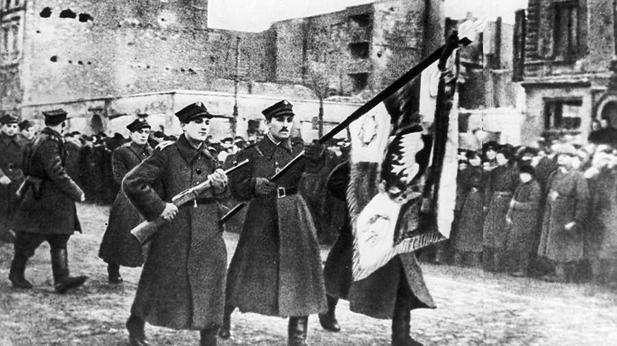 Парад Войска Польского в честь освобождения Варшавы