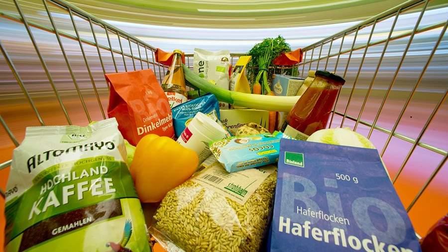 Магазин органических продуктов в Нюрнберге, Германия