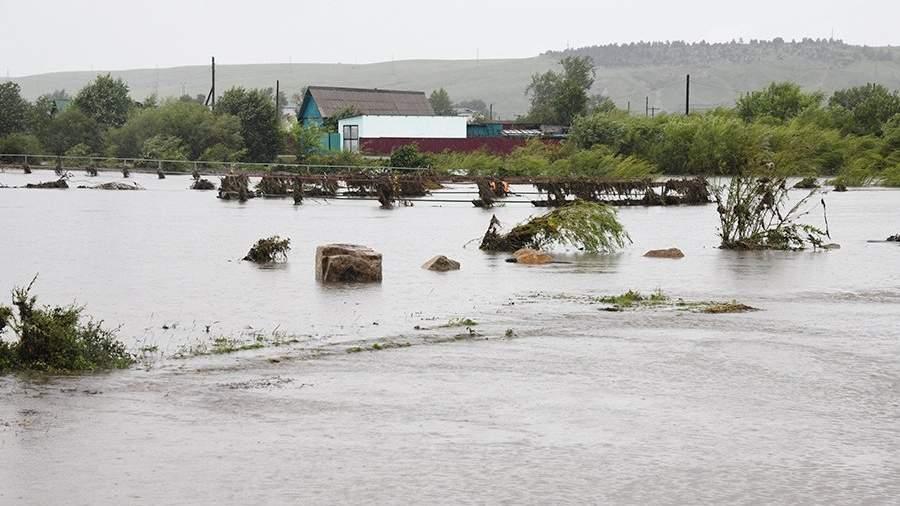 Паводок в Забайкальском крае. Июль 2018 года