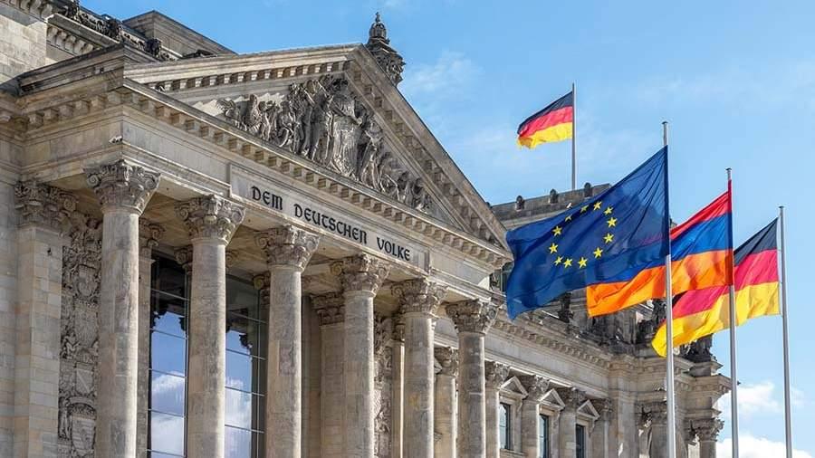 Парламент в Берлине