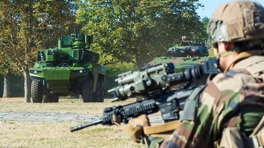 Разведывательно-боевая машина «Ягуар», БМП VBCI