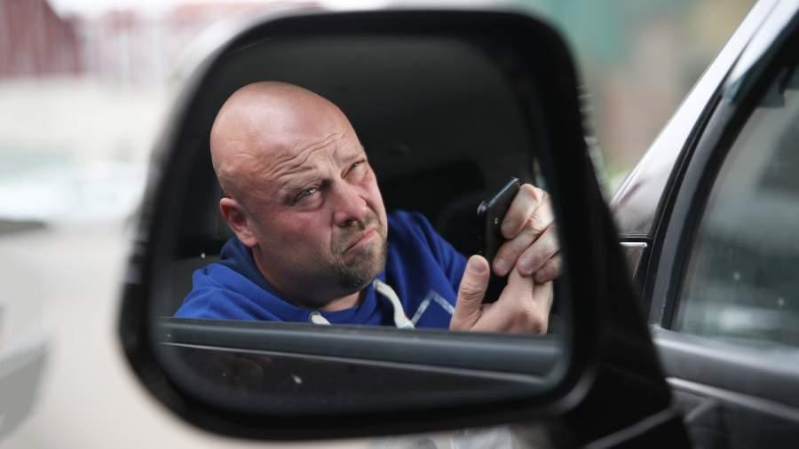 Недовольный водитель