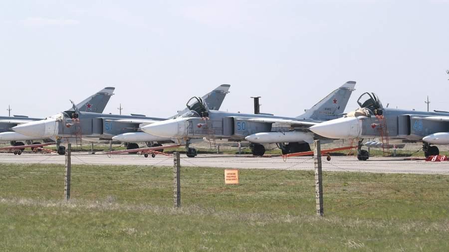 Тактическиефронтовые бомбардировщики Су-24