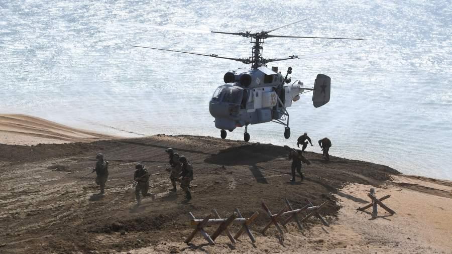 Корабельный противолодочный вертолет Ка-27
