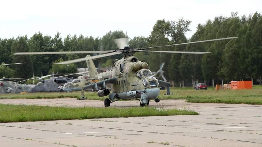 Ударный вертолет Ми-24