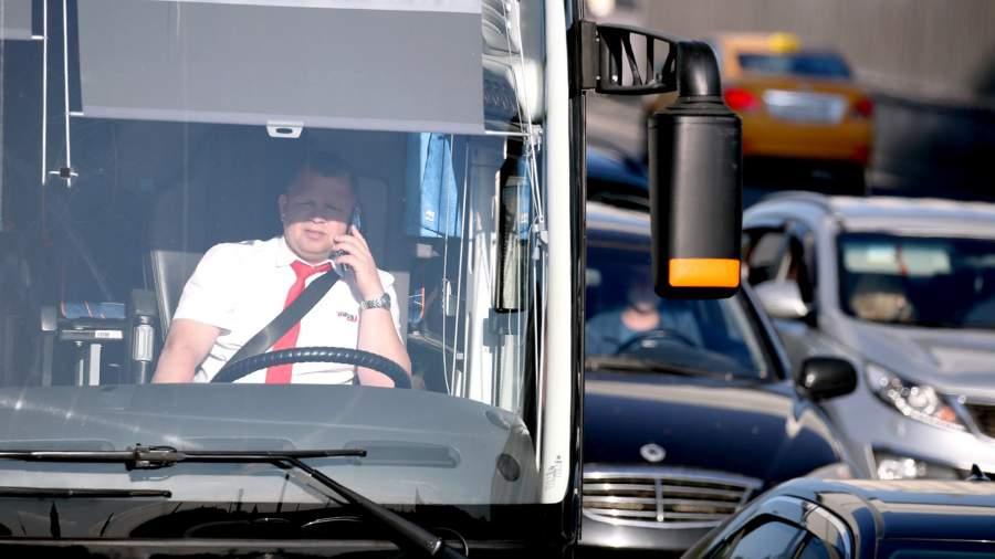 водитель пробка транспорт телефон