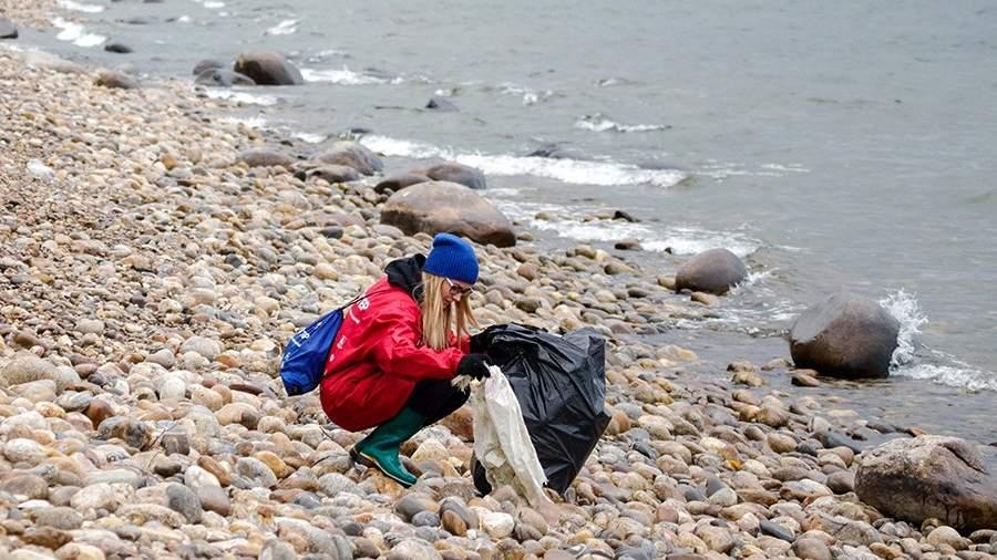 байкал уборка мусор озеро