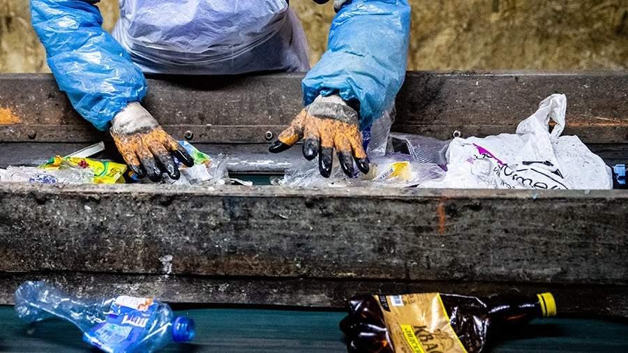 Завод по переработке вторичного пластика
