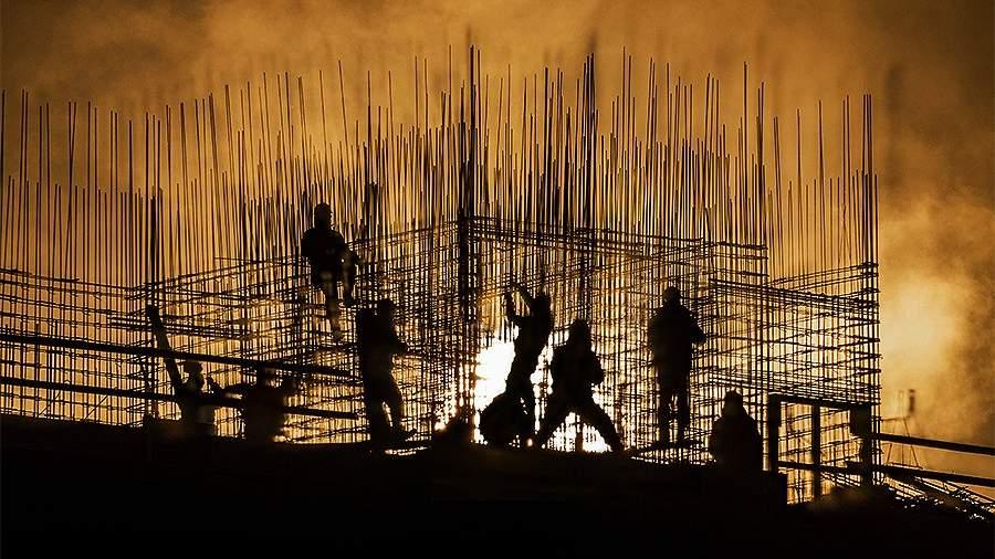 жилье ипотека строители стройка арматура