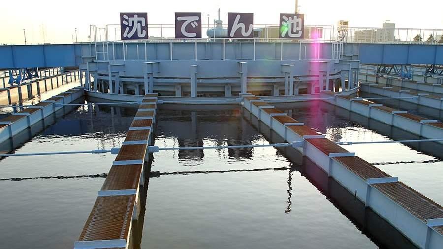 завод по очистке воды