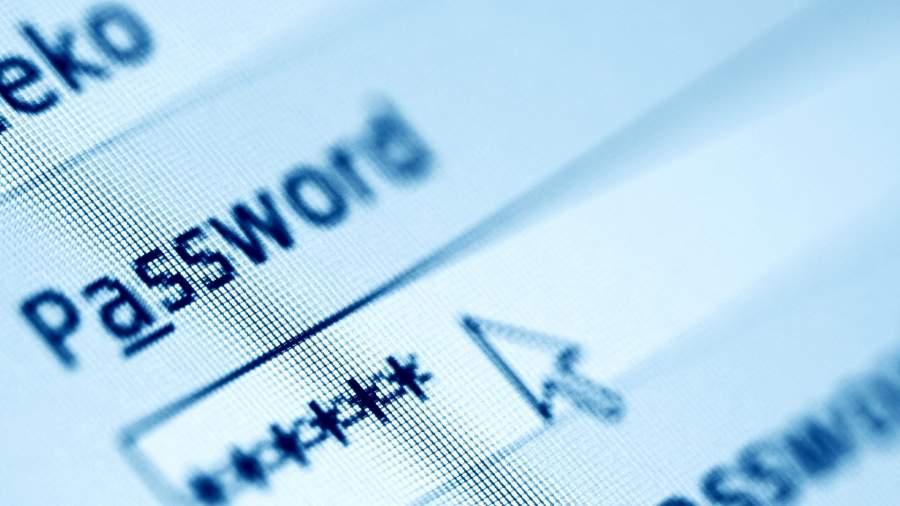 интернет пользователь пароль