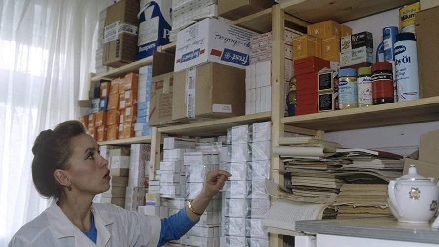 Кабинет старшей сестры онкологического отделения, где хранятся медицинские препараты