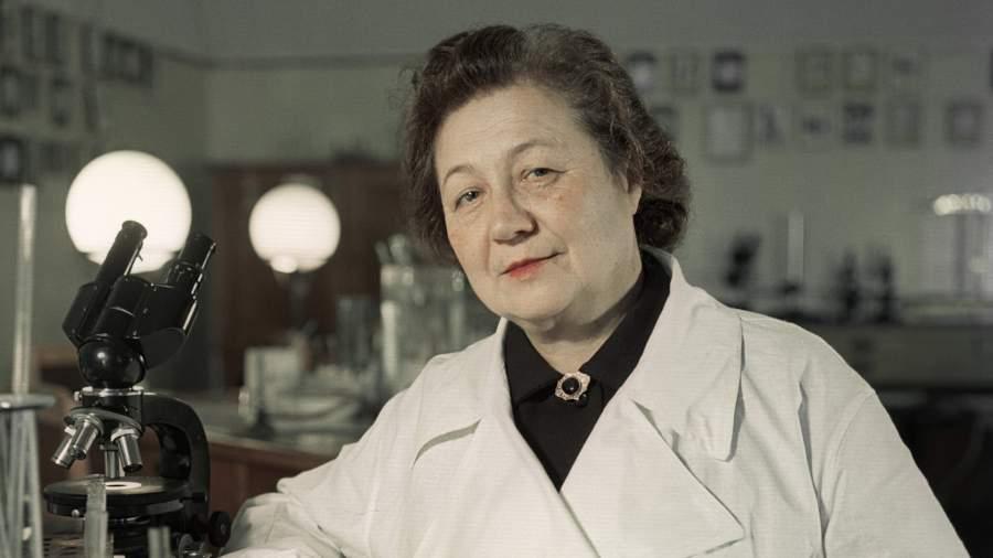Микробиолог Зинаида Виссарионовна Ермольева