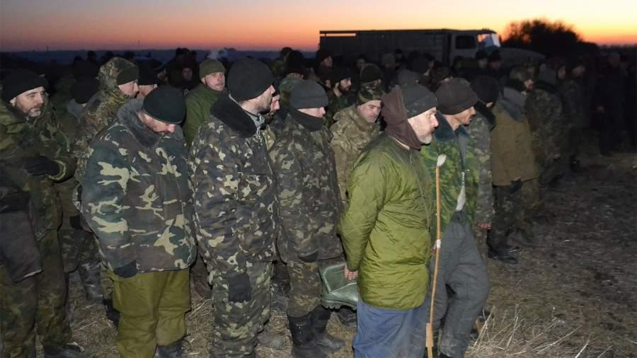 пленные украина днр лнр