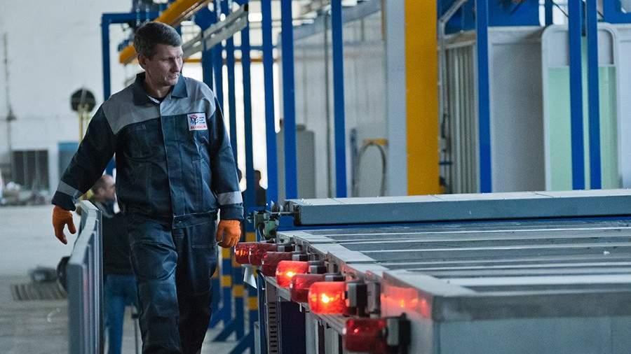 Запуск первой линии производства на заводе алюминиевых профилей в Симферополе