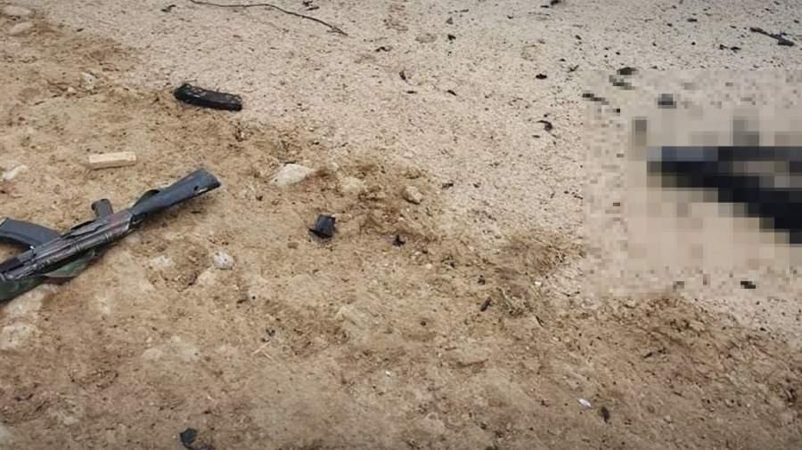 Последствия нападения на базу »Ишкобод»