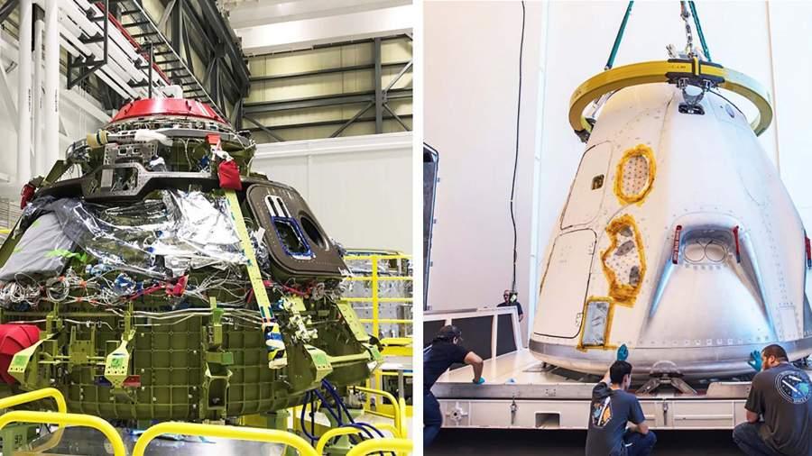 NASA вместе с Boeing иSpaceXподготавливают многоразовые челноки для полетов, 2011 г