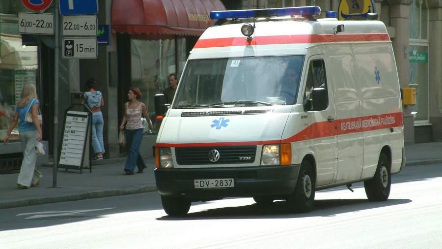 Скорая помощь на улицах Риги