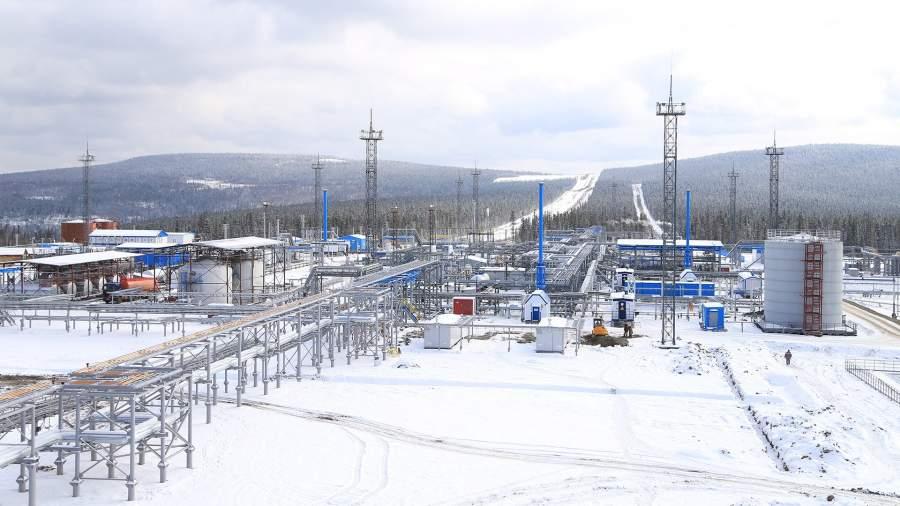 Установка подготовки газа на Ковыктинском месторождении