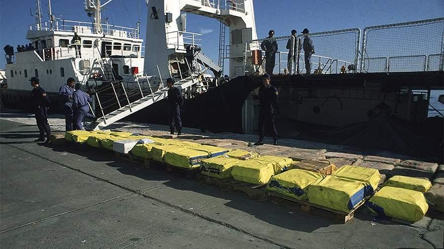 испания порт наркотики полиция