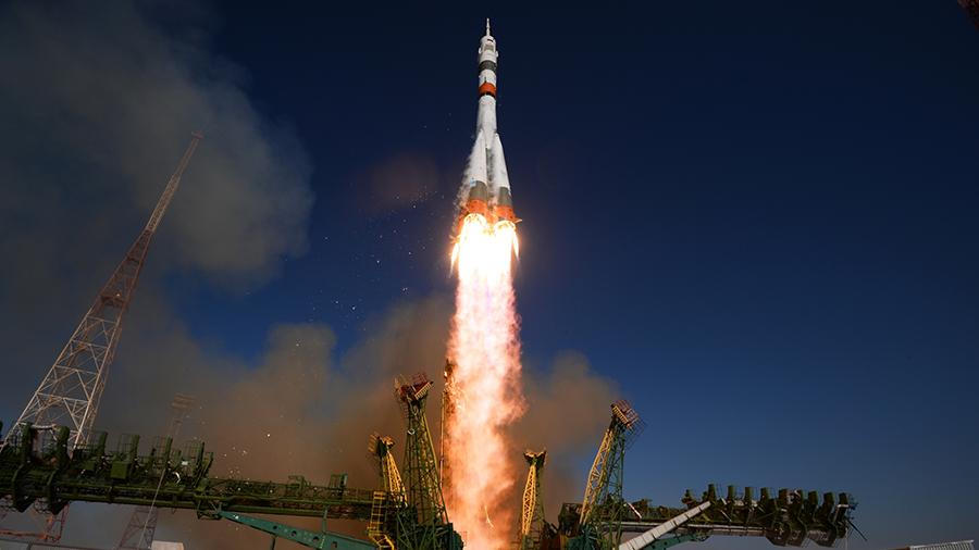Запуск ракеты-носителя «Союз-2.1»