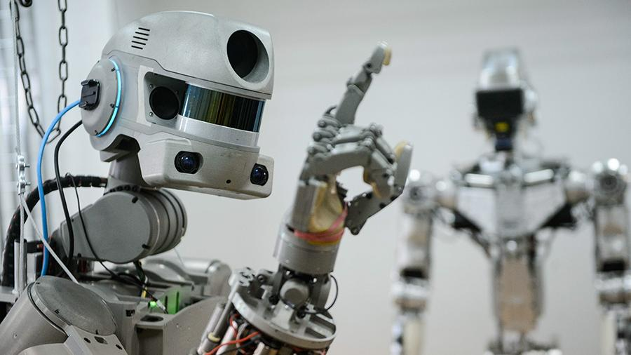 Антропоморфный робот-спасатель «Федор»