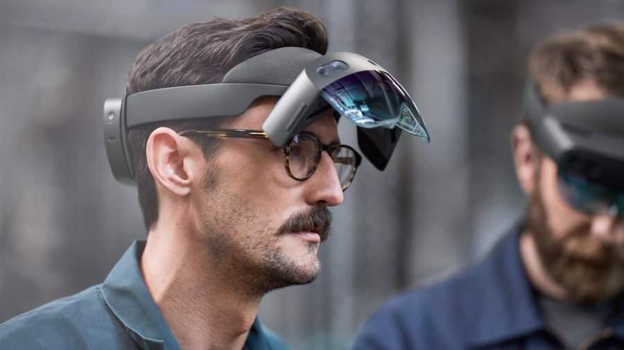Очки смешанной реальности HoloLens 2