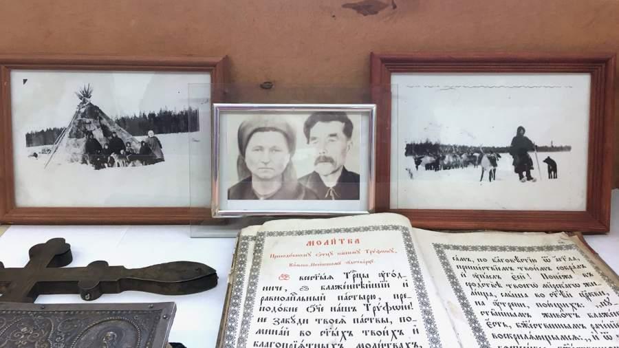 Часть экспозиции краеведческого музея