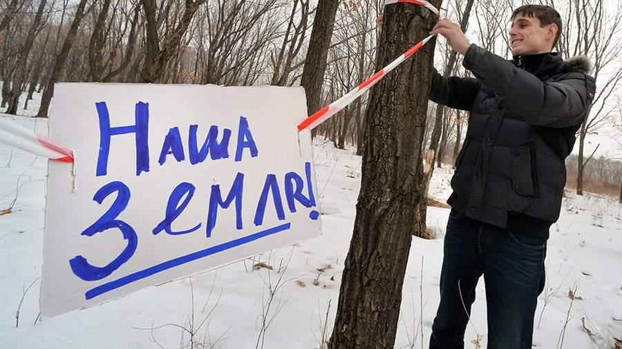 Индивидуальный предприниматель Роман Мошной осваивается на своем «дальневосточном гектаре» в Надеждинском районе Приморского края