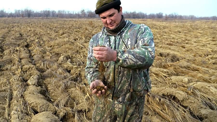 Участник программы «Дальневосточный гектар» Иван Панин на своем участке возле села Градеково в Хабаровском крае