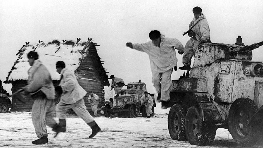 Ленинградский фронт,атака десантников, район Красного села