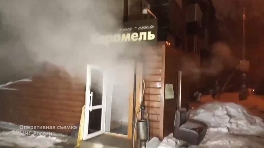Вход в мини-отель «Карамель»в Перми