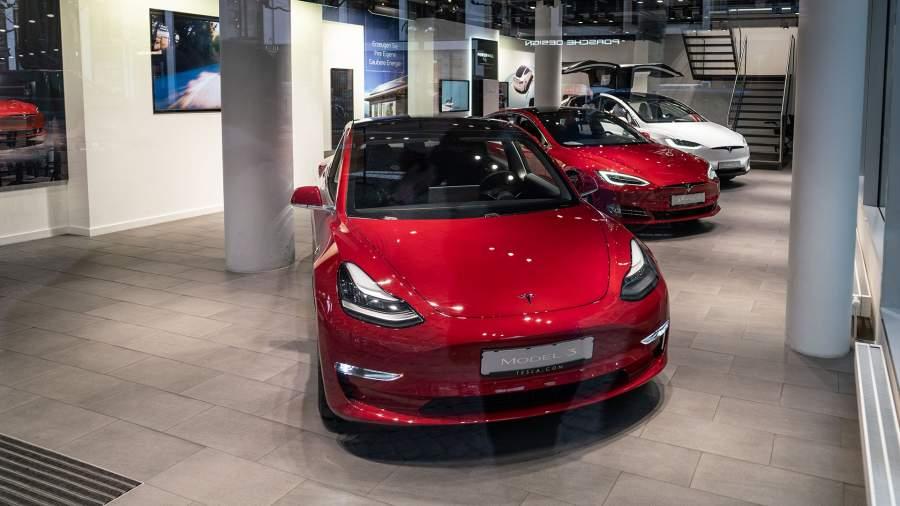 Tesla Motors во Франкфурте