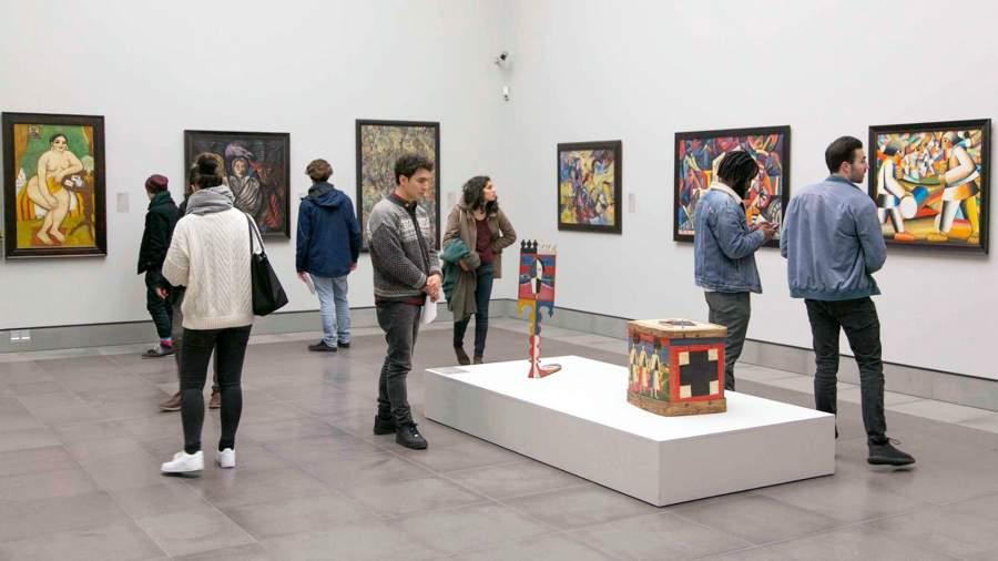 Собрание Комаровского на выставке в Музее изящных искусств Гента