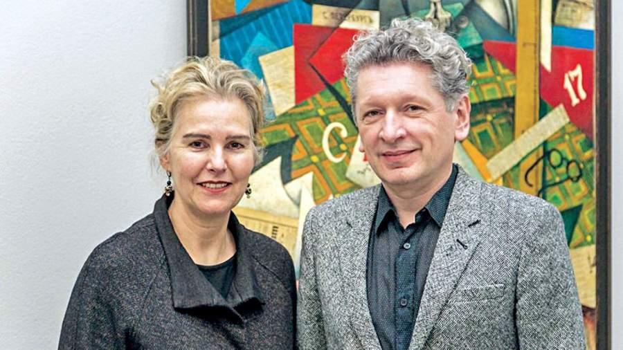 Кэтрин де Зегер и Игорь Топоровский