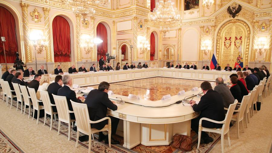 Расширенное заседание президиума Государственного совета и Совета при президенте по науке и образованию