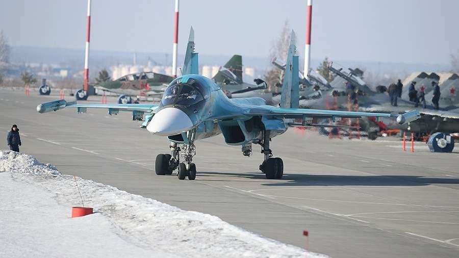 Многофункциональный сверхзвуковой истребитель-бомбардировщик Су-34