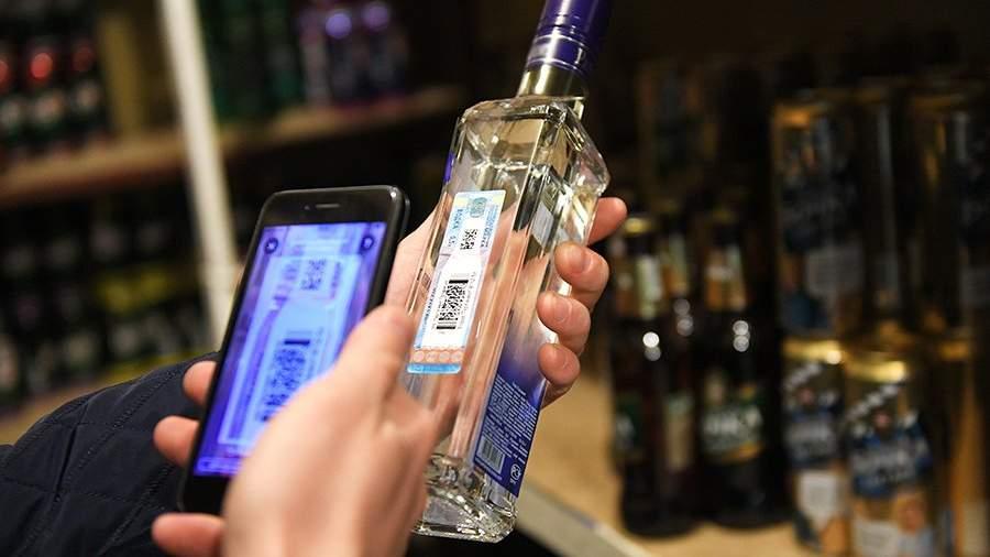 Рейд сотрудников полиции, департамента региональной безопасности и департамента торговли по выявлению точек продажи контрафактного алкоголя в одном из продуктовых магазинов