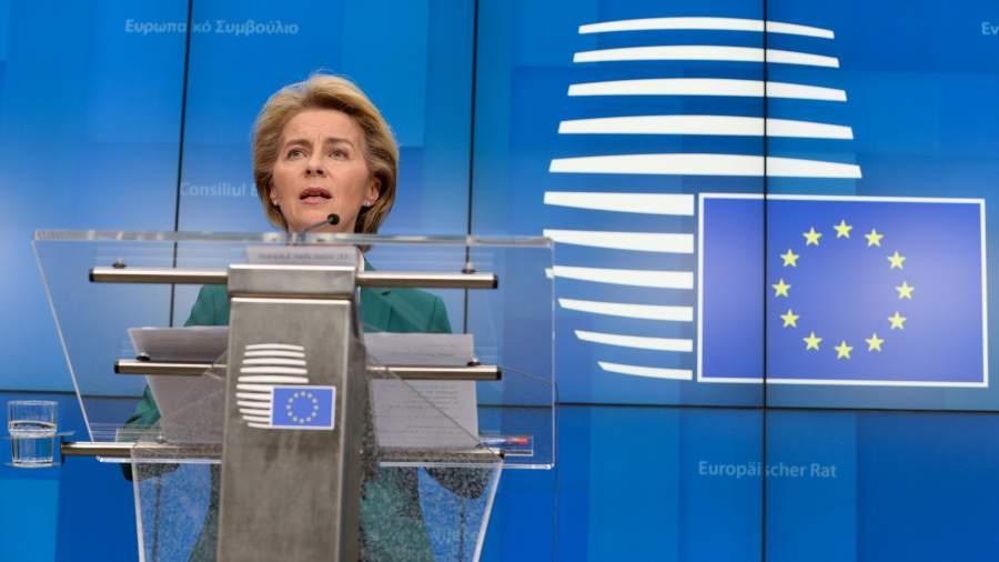 Ппредседатель Еврокомиссии Урсула фон дер Ляйен