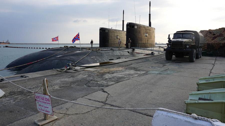 Российские подводные лодки в Сирии