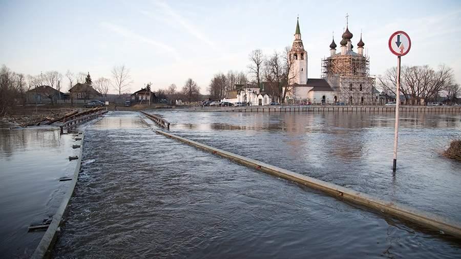 Паводок в Ивановской области