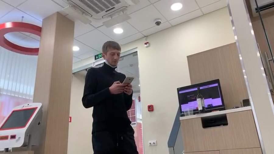 Захватчик отделения банка Алексей Барышников