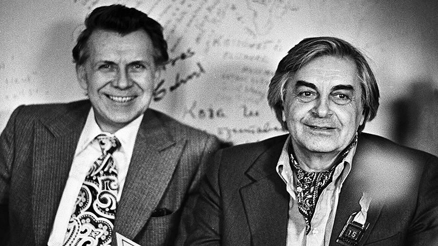 Николай Дупак и Юрий Любимов