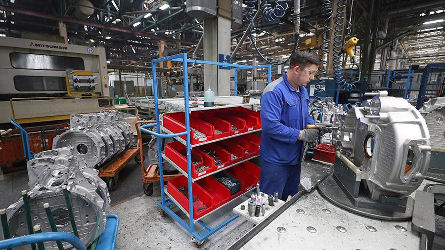 Производство на заводе двигателей ПАО «Камаз