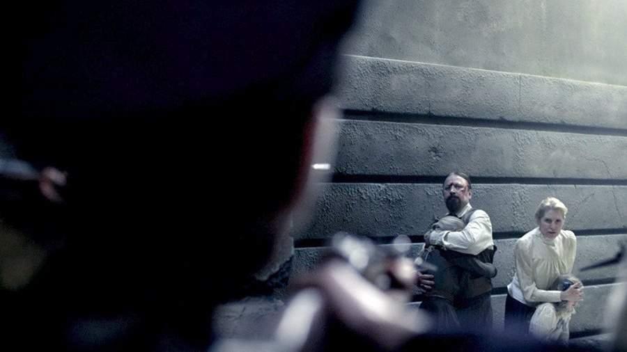 Кадр из фильма «Литургия оглашенных»